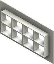 Стальная рама G 2+2x4 AISI316