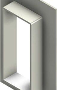 Стальная рама G 8x1 W Ex PRIMED
