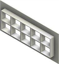 Стальная рама G 2+2x5 primed