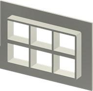 Стальная рама SF 2+2x3 W Ex PRIMED