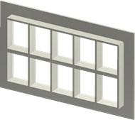 Алюминиевая рама SF 4+4x5