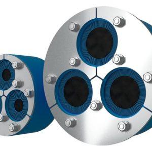Резино-металлический зажим H3-200 Insertable