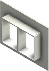 Стальная рама G 4x2 W Ex PRIMED