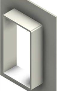 Стальная рама G 6x1 W Ex AISI316