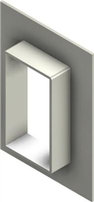Стальная рама G 6x1 W Ex PRIMED