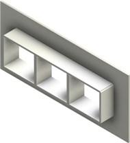 Стальная рама G 2x3 W Ex PRIMED