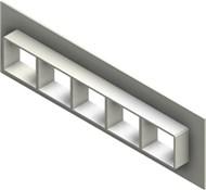 Стальная рама G 2x5 W Ex PRIMED