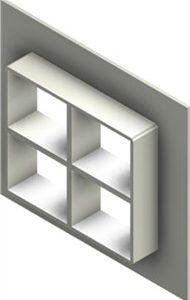 Стальная рама G 2+2x2 W Ex PRIMED