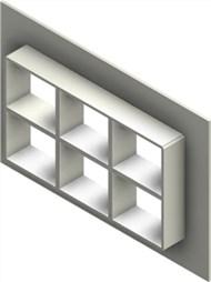 Стальная рама G 2+2x3 W Ex PRIMED