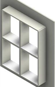 Стальная рама G 4+4x2 W Ex PRIMED
