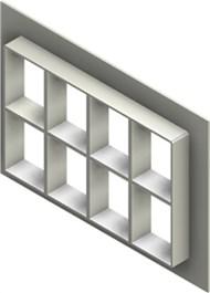 Стальная рама G 4+4x4 W Ex PRIMED