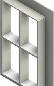 Стальная рама G 6+6x2 W Ex PRIMED