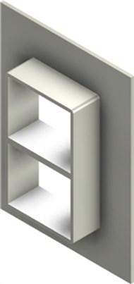 Стальная рама G 2+2x1 W Ex AISI316