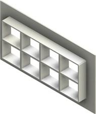 Стальная рама G 2+2x4 W Ex AISI316