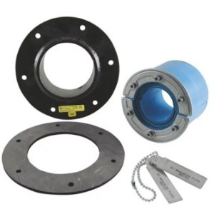 Набор резино-метал. зажима RS 100 B Ex AISI 316 woc/primed
