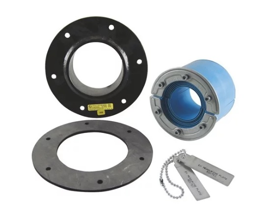 Набор резино-метал. зажима RS 100 B Ex AISI316 WOC/GALV