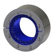 Набор резино-металл. зажима RS 150 W Ex AISI 316 woc/primed