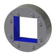 Набор резино-металл. зажима R 200 W Ex AISI 316/primed