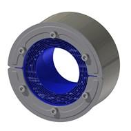 Набор резино-металл. зажима RS 125 W Ex AISI 316 woc/AISI 316