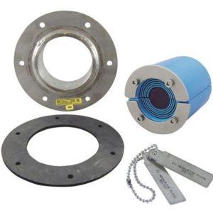 Набор резино-метал. зажима RS 75 B Ex AISI316/GALV