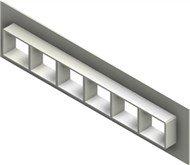 Стальная рама G 2x6 primed