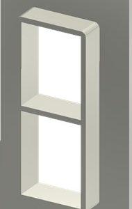 Алюминиевая рама SF 4+4x1