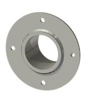 Гильза стальная с фланцем SLFRS 68 83/69,5-65мм AISI 316