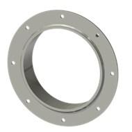 Гильза стальная с фланцем SLFR 200 214/201-55мм AISI 316