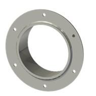 Гильза стальная с фланцем SLFRS 150 164/151-65мм гальв.