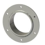 Гильза стальная с фланцем SLFR 125 140/126-55мм гальв.