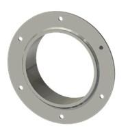 Гильза стальная с фланцем SLFR 150 164/151-55мм гальв.