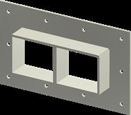 Стальная рама G 2x2 Ex AISI316