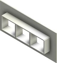 Стальная рама G 2x3 W Ex AISI316