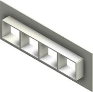 Стальная рама G 2x4 AISI 316