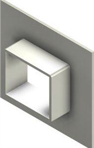 Стальная рама G 2x1 primed