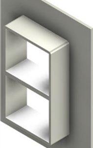 Стальная рама G 2+2x1 primed