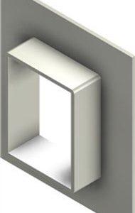 Стальная рама G 4x1 primed
