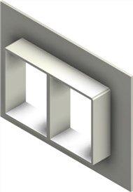 Стальная рама G 4x2 primed