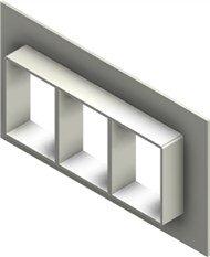 Стальная рама G 4x3 AISI 316