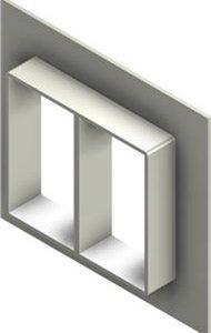Стальная рама G 6x2 primed