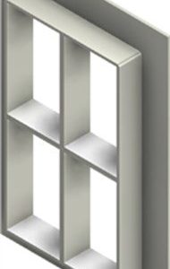 Стальная рама G 6+6x2 primed