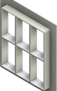 Стальная рама G 6+6x3 primed