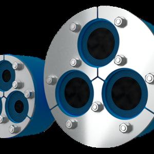 Резино-металлический зажим H3-150 Insertable WOC