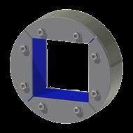 Набор резино-металл. зажима R 200 W Ex AISI 316/AISI 316