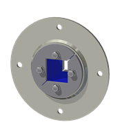 Набор резино-металл. зажима R 75 B Ex AISI 316/AISI 316