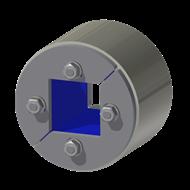 Набор резино-металл. зажима R 75 W Ex AISI 316/AISI 316