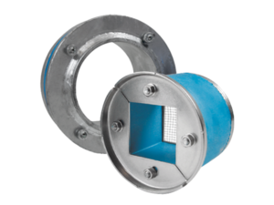 Набор резино-метал. зажима R X 125 AISI 316/galv
