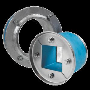 Набор резино-метал. зажима R X 75 AISI 316/galv
