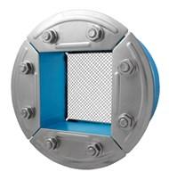 Резино-метал. зажим R 150 AISI 316 в комплекте