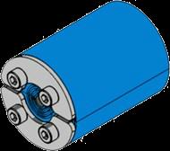 Резино-метал. зажим RS 25 OMD AISI 316 в комплекте